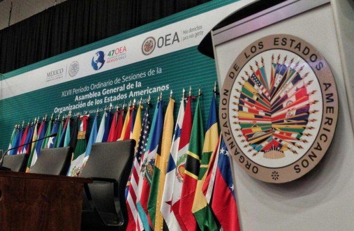 Aprueba OEA crear grupo político de trabajo para crisis de Nicaragua