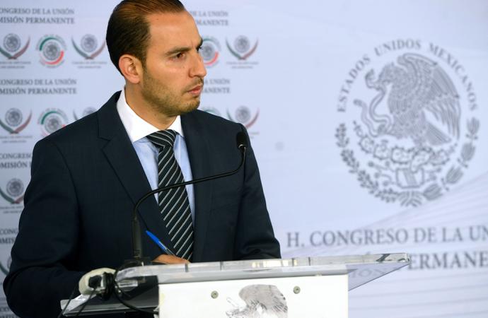 El gobierno del PRI deja un país con altos niveles de inseguridad y crisis económica: Marko Cortés