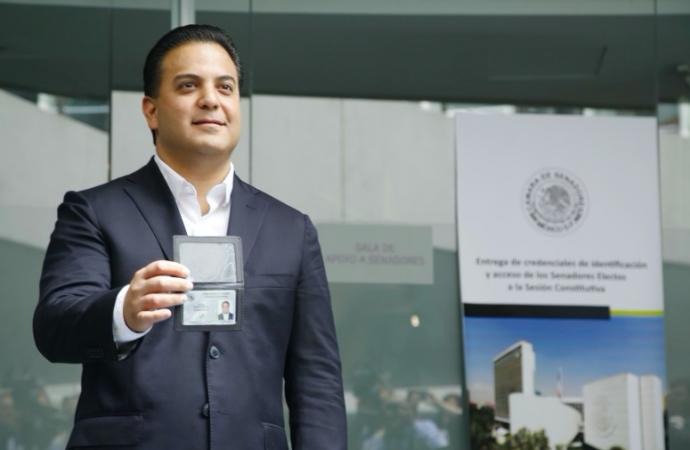 Senadores del PAN impulsarán intereses de los ciudadanos en la LXIV legislatura: Damian Zepeda