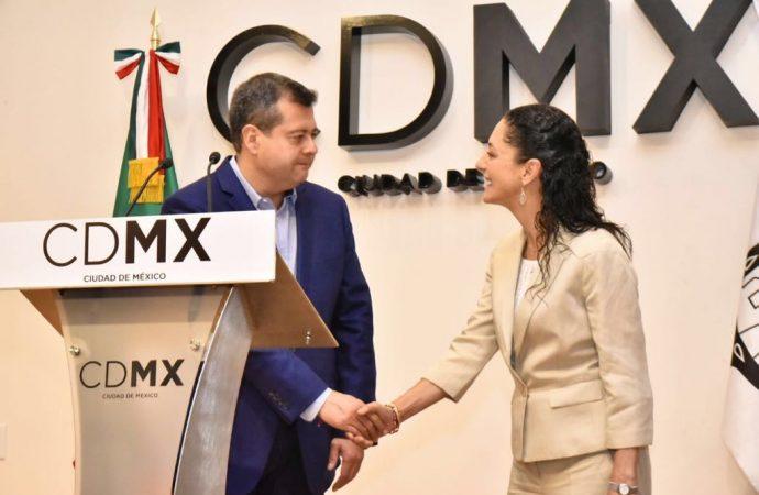 Amieva descarta sugerencias a nueva administración en Informe de Gobierno