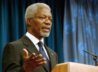 Kofi Annan, ejemplo que inspira a defender valores Cancillería mexicana