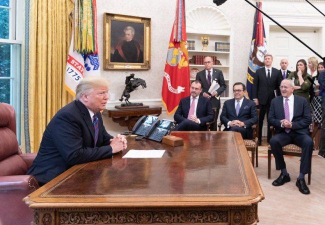 Acuerdo bilateral EUA-México corona un año de intensa negociación; se espera reincorporación de Canadá
