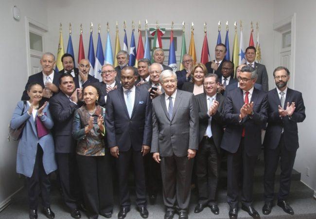 López Obrador ofrece unidad y cooperación a países de América Latina