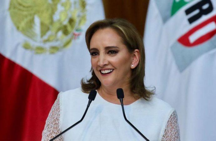 Ruiz Massieu rinde protesta como presidenta del PRI