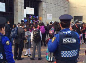 Con 28 mil elementos, Policía vigilará regreso a clases en la capital