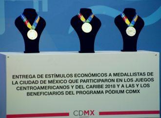 Reconoce GCDMX a deportistas participantes de los Juegos Centroamericanos y del Caribe 2018