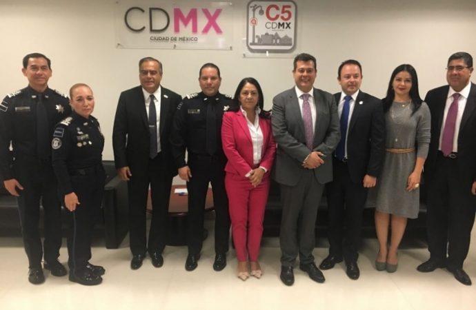 Convenio de colaboración entre GCDMX y Policía Federal fortalecerá estrategias que garanticen seguridad