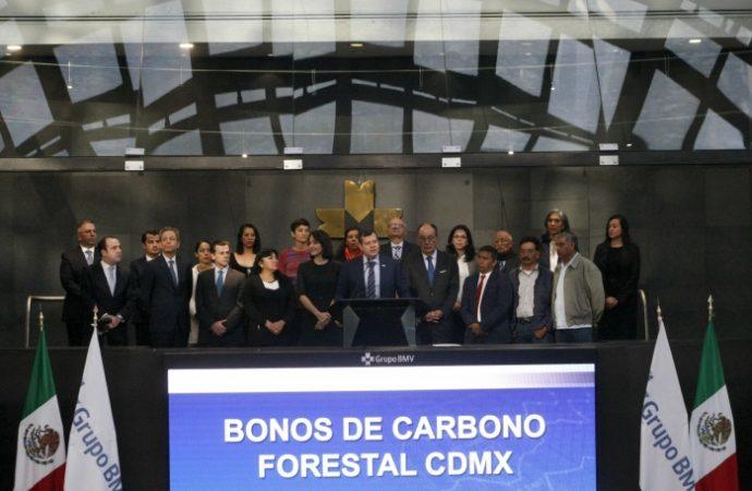 Lanza GCDMX primer bono de carbono forestal de la capital