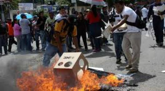 Observadores electorales advirtieron de violencia contra candidatos