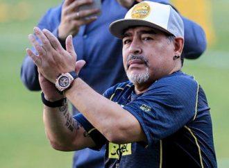 Diego Maradona feliz porque lo dejan trabajar a gusto con Dorados