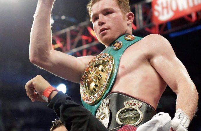 """Canelo"" gana la pelea y destrona a Gennady Golovkin"
