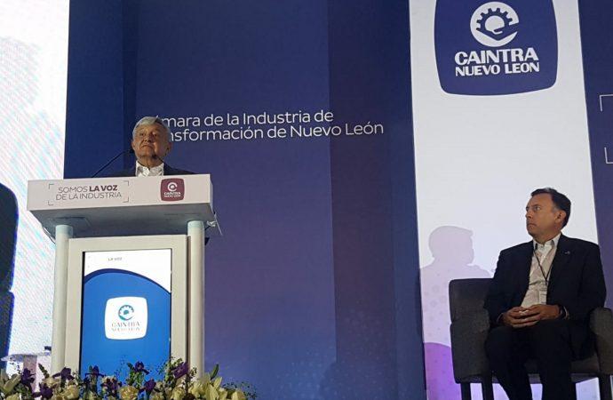 López Obrador se compromete a impulsar nueva era de prosperidad económica