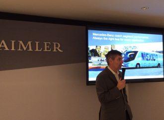 Daimler quiere encaminar a México a la movilidad eléctrica de pasajeros