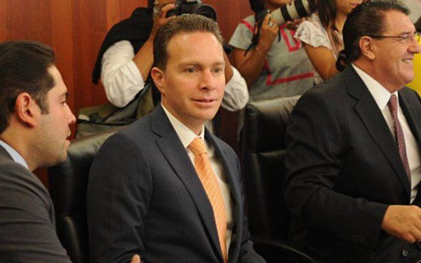 Niegan a Manuel Velasco solicitud de licencia en el Senado