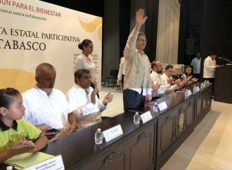 Revalorarán a maestros en Acuerdo Nacional Sobre Educación: Moctezuma