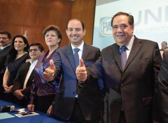 Marko Cortés se registra como candidato a la dirigencia nacional del PAN