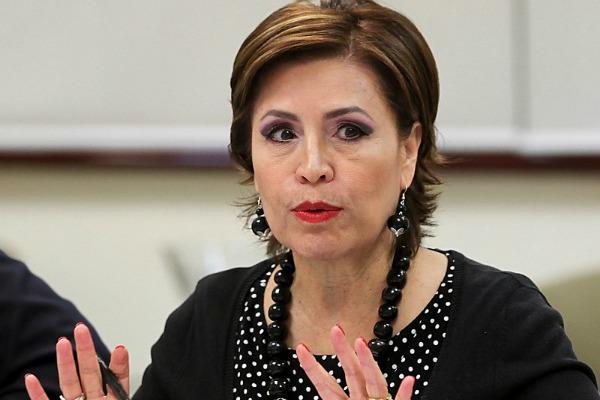 El Senado va sin piedad y a fondo vs Rosario Robles