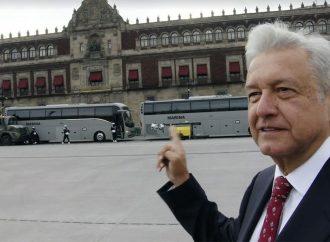 AMLO, como Benito Juárez, vivirá en Palacio Nacional;solo necesito un catre o una hamaca, dice