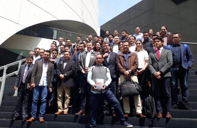 Prioridad la capacitación en el Senado para fortalecer el trabajo legislativo: Ricardo Monreal