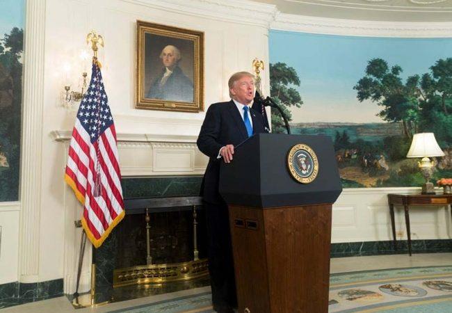 Trump advierte al Congreso no interferir en negociaciones del TLCAN