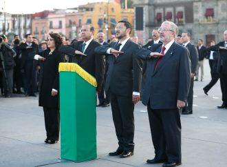 No sólo es recordar el momento doloroso, sino reconocer la lucha democrática de los jóvenes de 1968: Martí Batres
