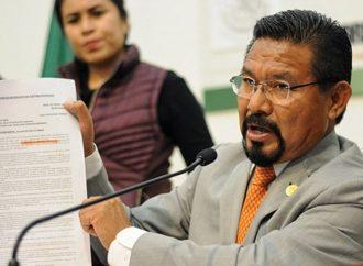 Acuerdan conformar Sección Instructora para desafuero de Charrez Pedraza