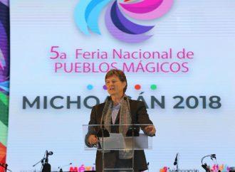 Inauguran en Michoacán la Quinta Feria Nacional de Pueblos Mágicos