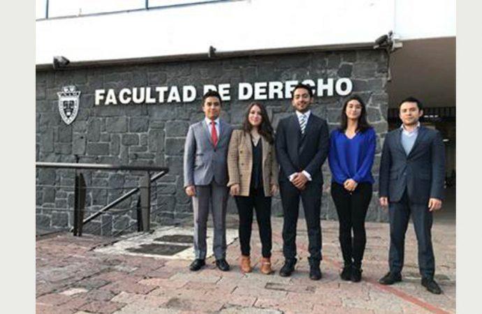 Vencen alumnos de Derecho de la UNAM concurso de arbitraje comercial