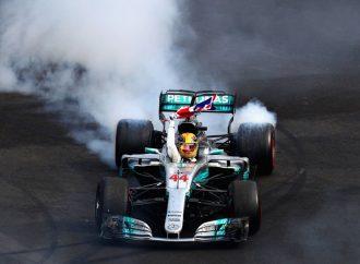 Lewis Hamilton es campeón de Fórmula 1 en GP de México