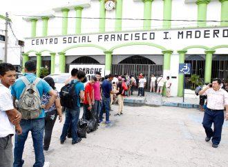 Han ingresado a México unos 380 migrantes de caravana