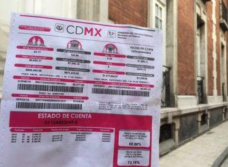 Sheinbaum anuncia condonación de adeudos de agua y predial en Magdalena Contreras