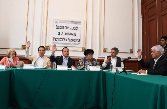 Instala Congreso CDMX Comisión de Protección a Periodistas