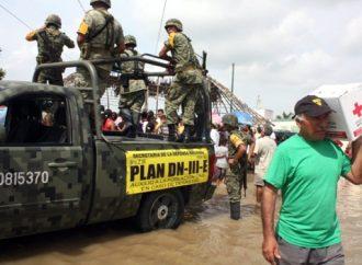 Ejército aplica Plan-DN-III-E en Quintana Roo por el huracán Michael