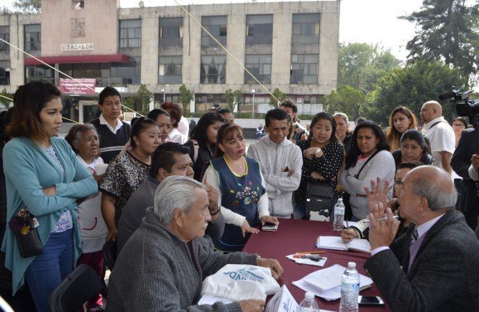 """Alcalde de Iztacalco inaugura programa """"Lunes del Pueblo"""""""