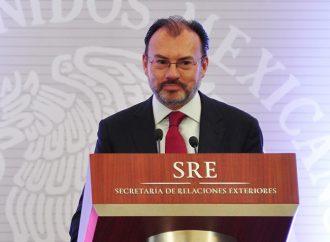 México tiene una política migratoria soberana, afirma Luis Videgaray
