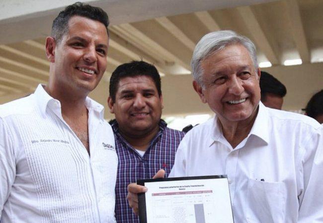 Alejandro Murat confía en que López Obrador apoyará a Oaxaca en la reconstrucción