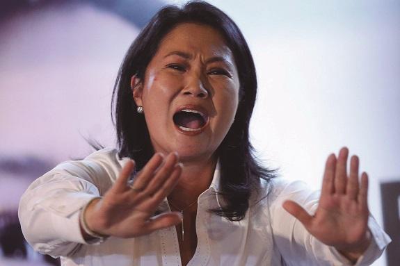 Keiko Fujimori fue detenida por lavado de activos