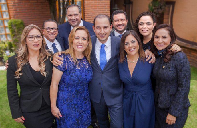 Unidad, único camino para el PAN; corregiremos errores: Marko Cortés