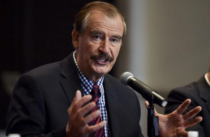 """Vicente Fox cederá su pensión """"por el bien de México"""""""