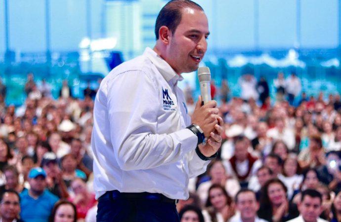 En el cierre de campaña reitera Marko Cortés su llamado a la unidad