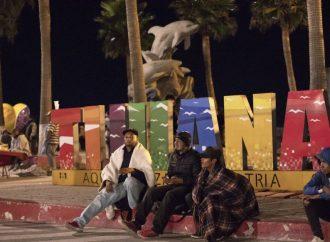 Llegan a Tijuana otros 348 migrantes centroamericanos