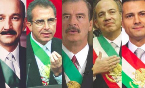 De CSG a EPN, presidentes en la nómina del narco