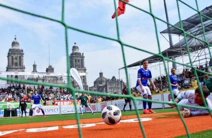 """Arranca torneo de futbol """"Homeless World Cup"""" en la Ciudad de México"""