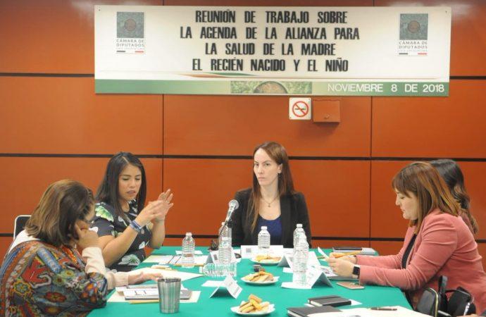 México debe ser ejemplo de protección materna, infantil y adolescente: diputada Cuevas Barron