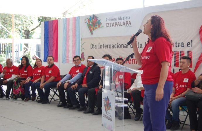 Conmemora Iztapalapa Día Internacional de la Lucha contra el VIH SIDA