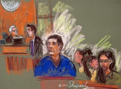 "Inicia tercera semana de juicio del Chapo con testigo ""sin rostro"""