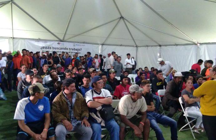 Atiende STPS a casi 3 mil migrantes que buscan empleo