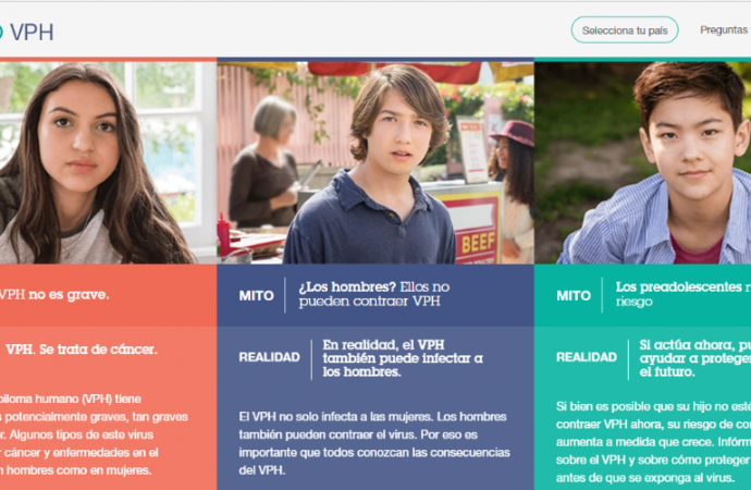 MSD lanza sitio web especializado en Virus de Papiloma Humano