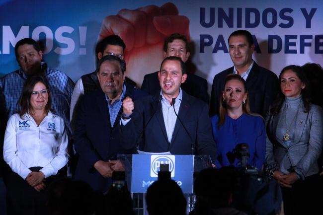 Nos quedamos los que queremos un PAN unido: Marko Cortés