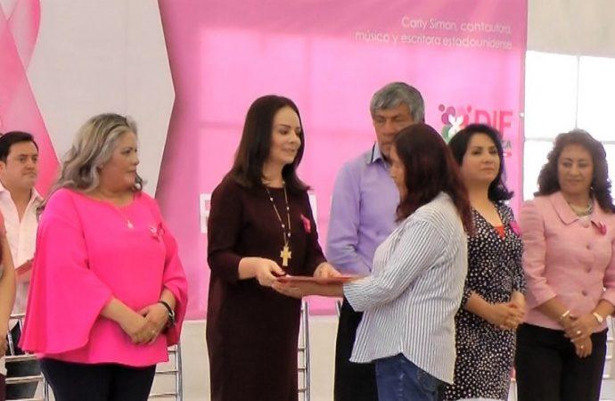 Encabeza Nuvia Mayorga Apoyo a Mujeres para Detección de Cáncer de Mama